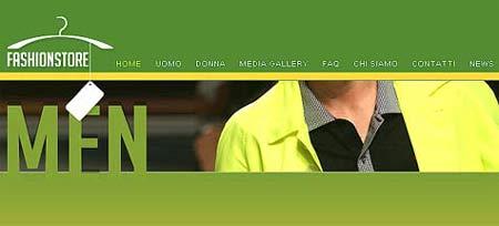 cbb1e8c7a530 Sviluppo siti ecommerce moda. Negozio di commercio elettronico per ...