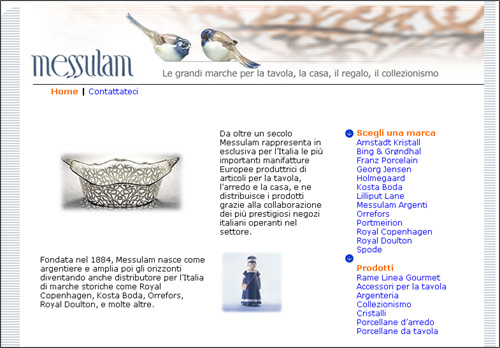 Sviluppo siti web articoli per la casa da regalo e oggettistica provincia di milano - Siti per la casa ...